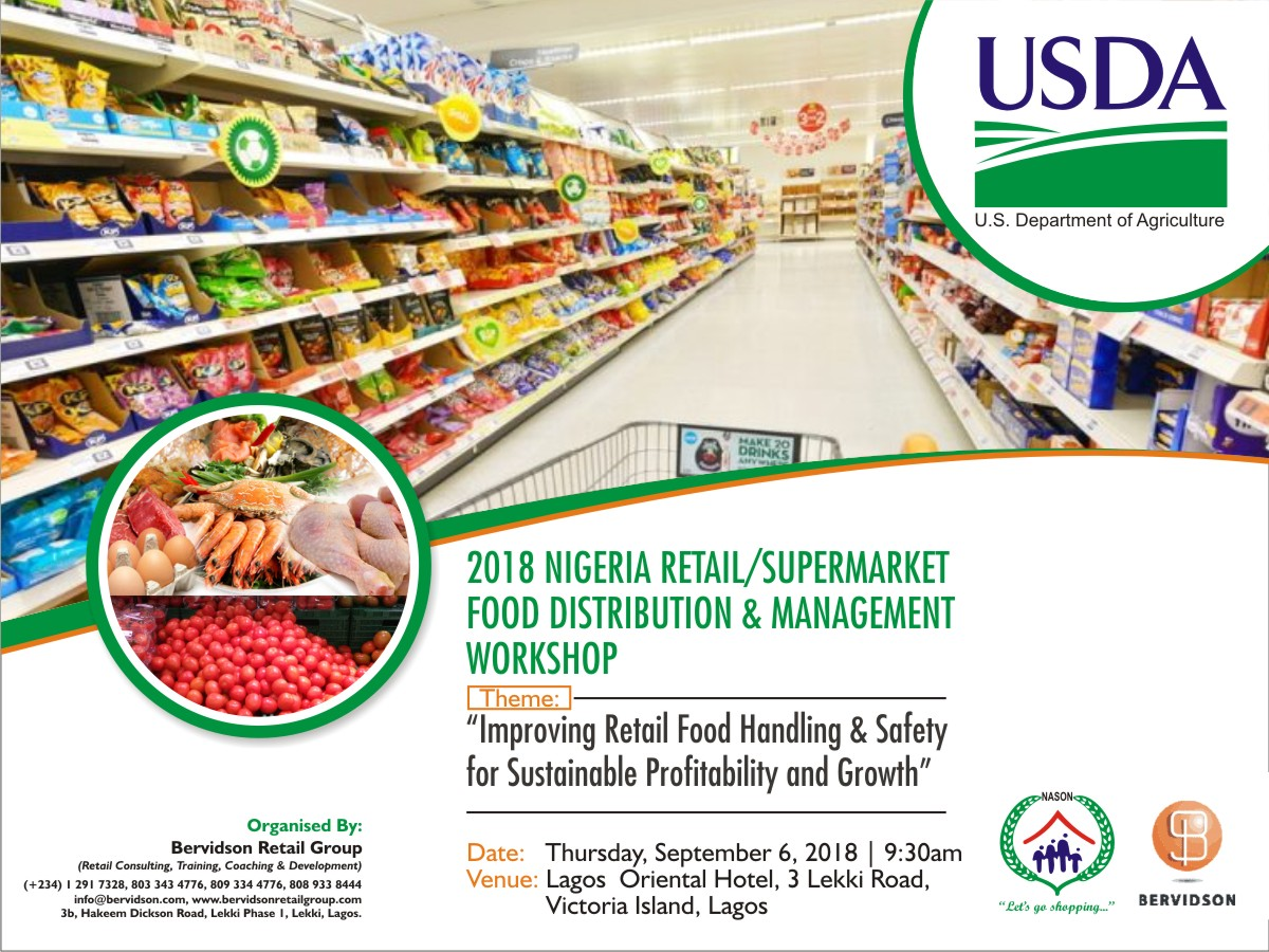 INVITATION TO PARTICIPATE @ THE RETAIL/SUPERMARKET FOOD DISTRIBUTION AND MANAGEMENT WORKSHOP