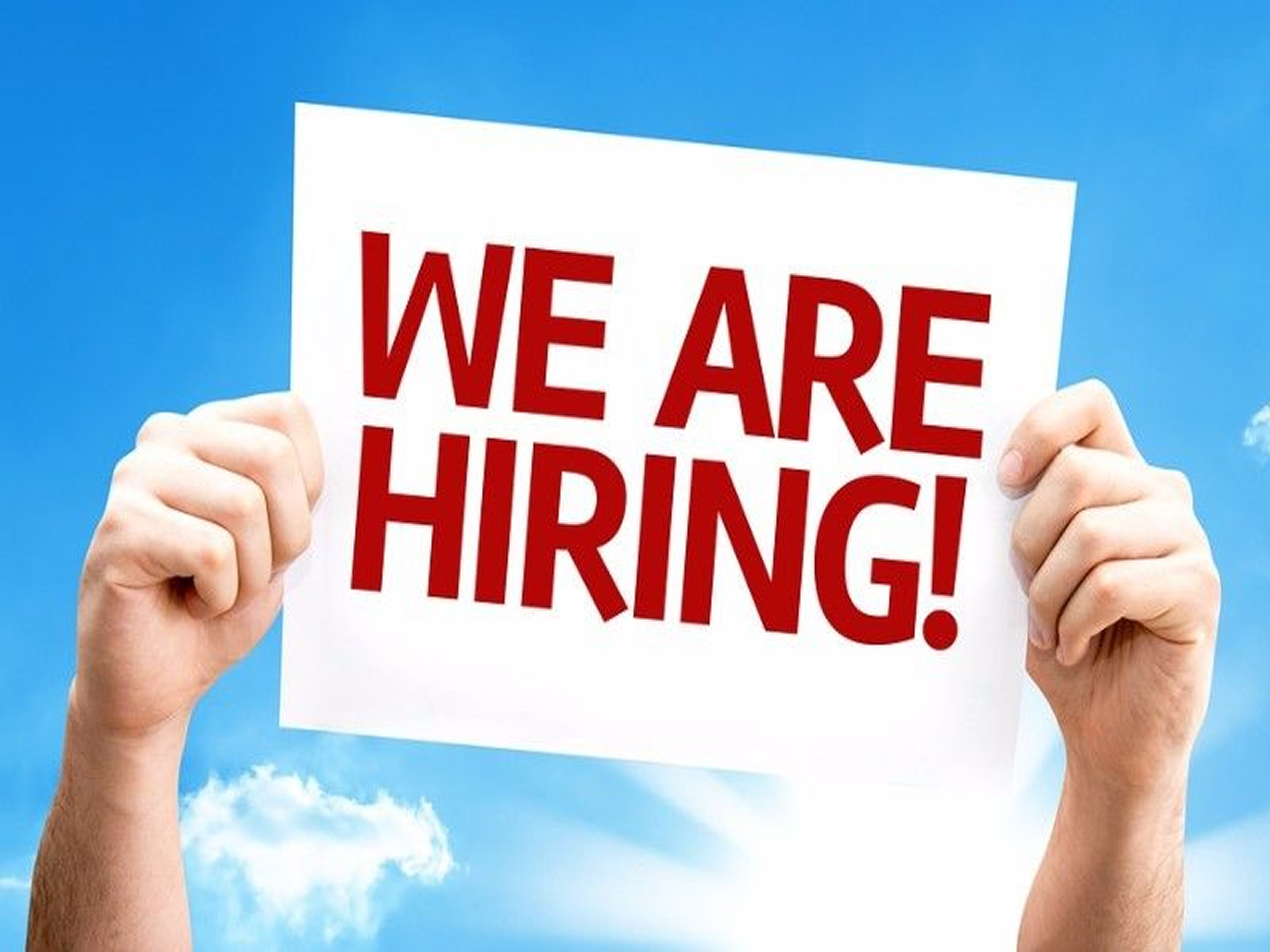 We Are Recruiting – Are You the One We Are Looking For?