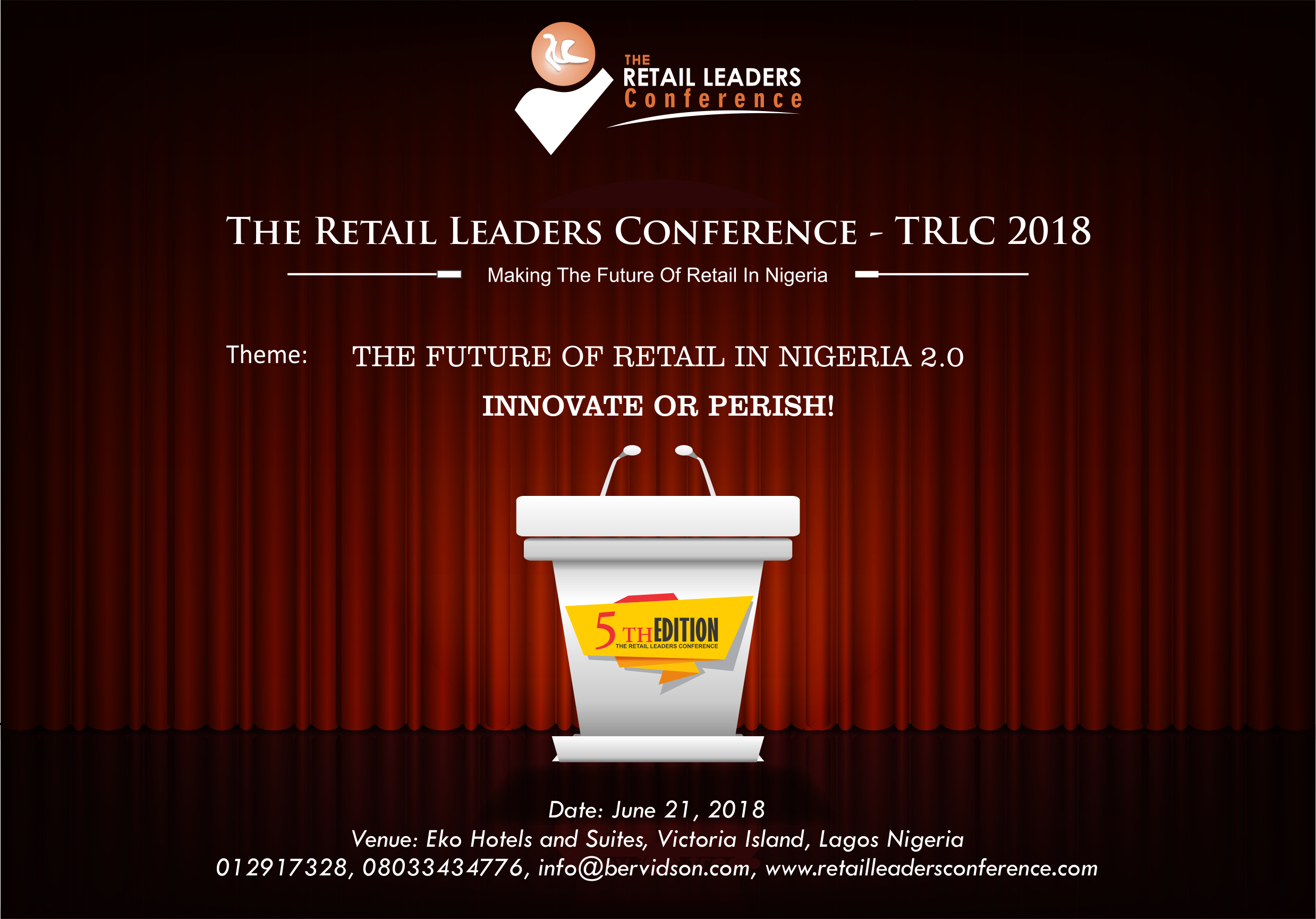 The 5th Edition of The Retail Leaders Conference – TRLC 2018 is Here